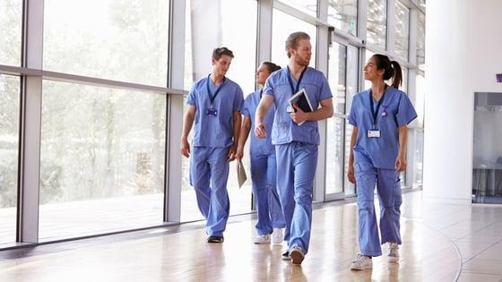 Nurses-walking